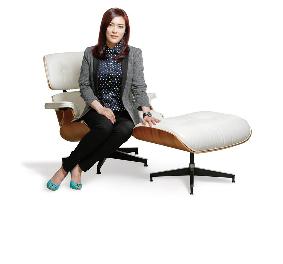 Regina on Eames Chair